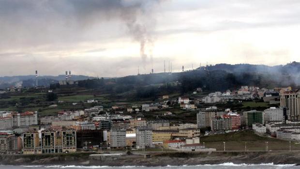 Fábrica en La Coruña