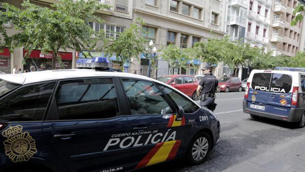 Imagen de un operativo de la Policía Nacional