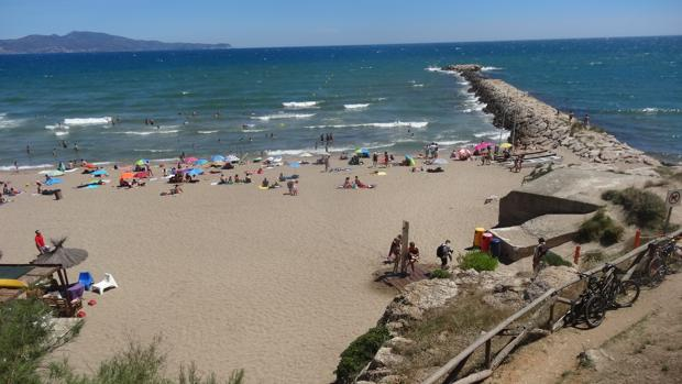 Playa donde se ha producido el ahogamiento
