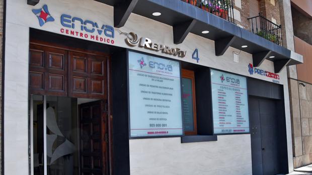 Centro médico Enova donde ya está Reprofiv