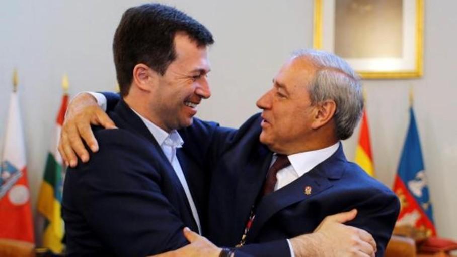 Tomé habla de «una nueva etapa» tras ser investido presidente de la Diputación de Lugo
