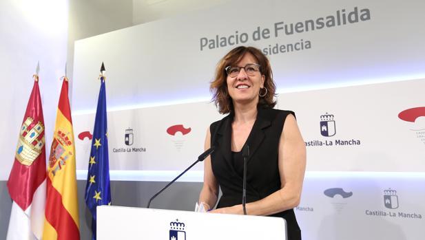 Blanca Fernández, portavoz del Gobierno
