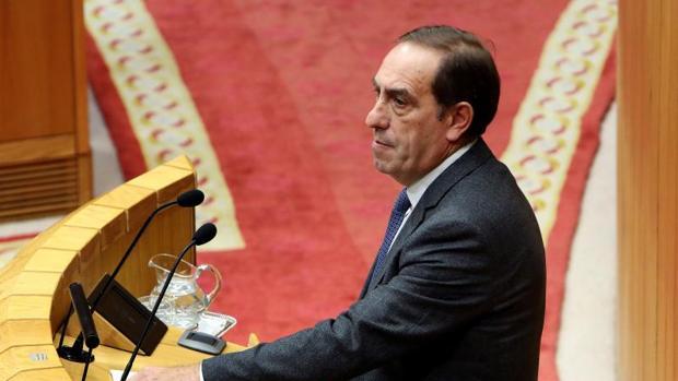 Valeriano Martínez, conselleiro de Facenda