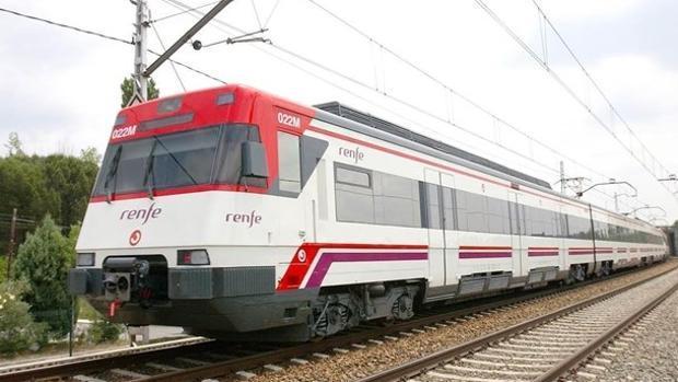Imagen de archivo de un tren de Cercanías