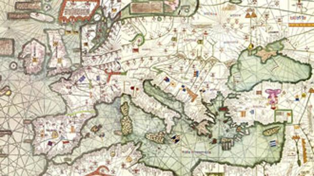 Imagen del Atlas de la Corona de Aragón difundido por la web de la Generalitat de Cataluña
