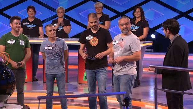 El equipo «Los Suevos», que homenajeó a la matemática