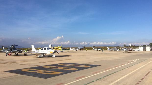 Imagen de las instalaciones del aeropuerto de Castellón