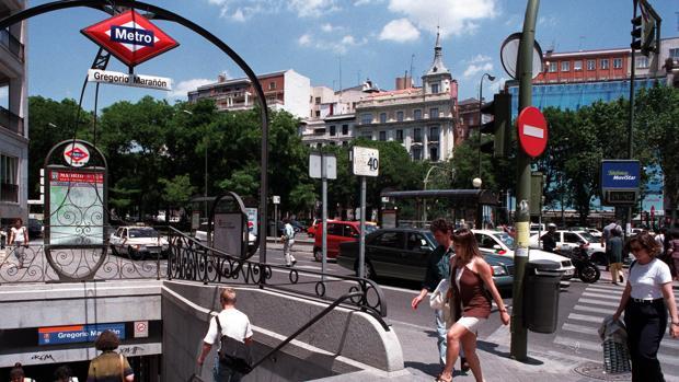 Estación de Metro Gregorio Marañón