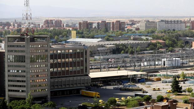 Vista general de la estación de Chamartín, espacio en el que comenzará la Operación Chamartín