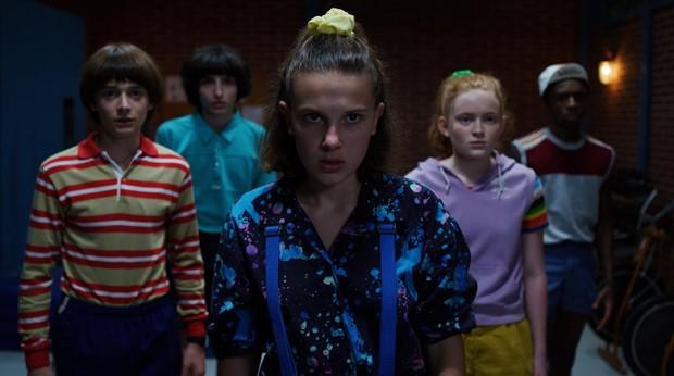 Los protagonistas de «Stranger Things» en la tercera temporada