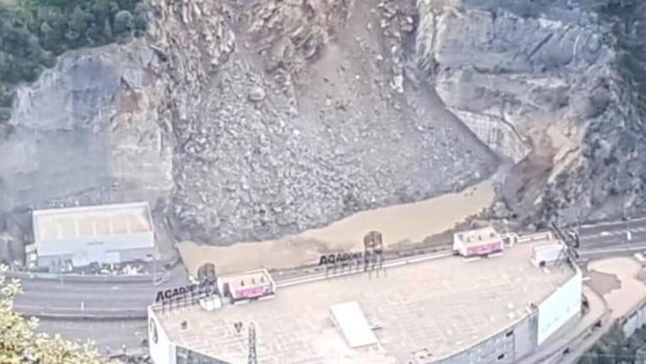 Un desprendimiento obliga a cortar el acceso a Andorra desde Cataluña