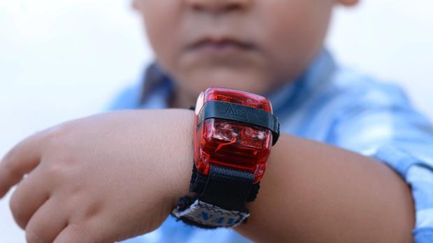 Pulsera de actividad para detectar el Trastorno de Déficit de Atención e Hiperactividad (TDAH) en niños