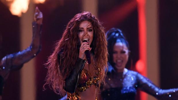 Eleni Foureira en Eurovision