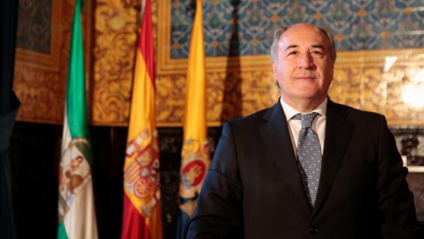 El alcalde de Algeciras por el Partido Popular, José Ignacio Landaluce