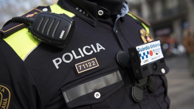 Agente de la Guardia Urbana de Barcelona