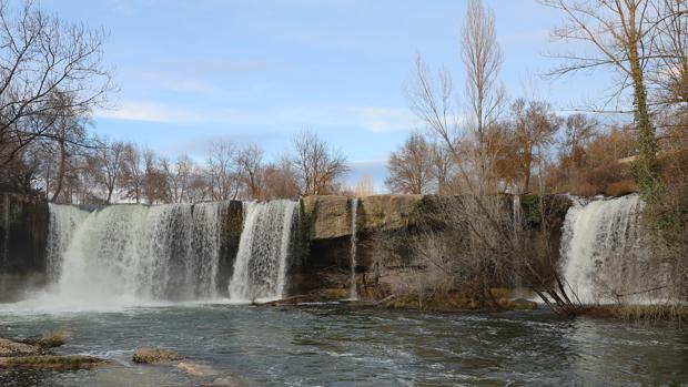 Imagen de archivo de las cascadas de Pedrosa de Tobalina (Burgos)