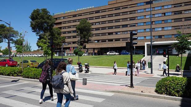 Hospital General de Albacete, donde ha fallecido la bebé atropellada en Ledaña (Cuenca)