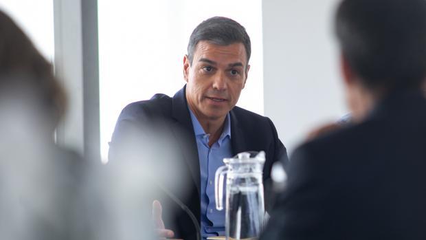 Pedro Sánchez, presidente del Gobierno en funciones