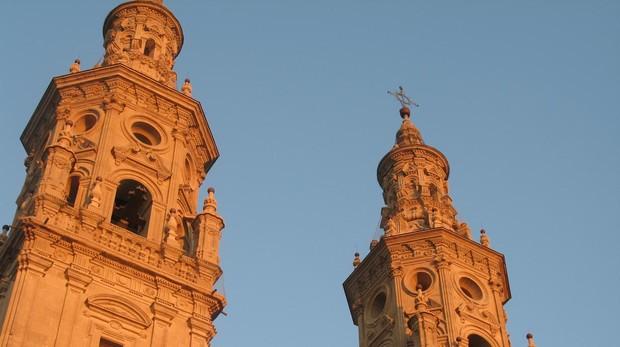 Torres de la concatedral de Logroño