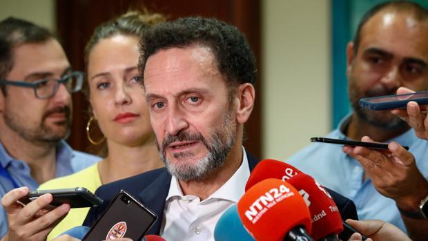Los portavoces adjuntos de Cs Edmundo Bal y Melisa Rodríguez, en el Congreso de los Diputados