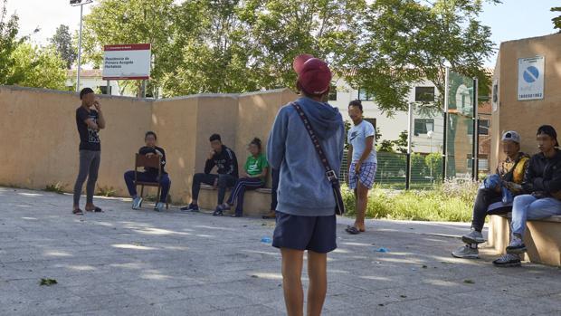 Menores inmigrantes no acompañados en Hortaleza