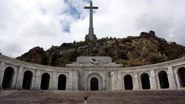 Imagen de los exteriores del Valle de los Caídos