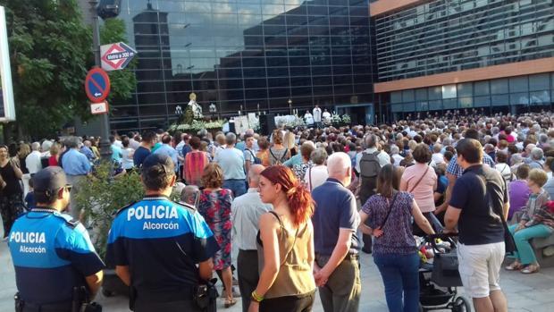 Policía Municipal de Alcorcón en las fiestas del municipio
