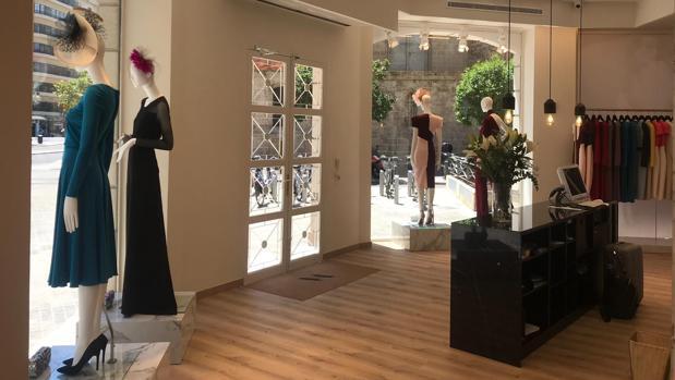 Imagen del interior de la nueva tienda «Victoria» en Valencia
