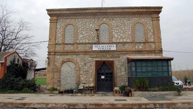 Estación de Villaluenga-Yuncler, cerrada hace más de 20 años