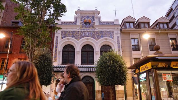Fachada del teatro Lope de Vega de Valladolid