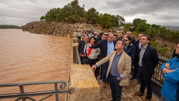 Page visitó este sábado Caudete, en Albacete, afectado por el temporal