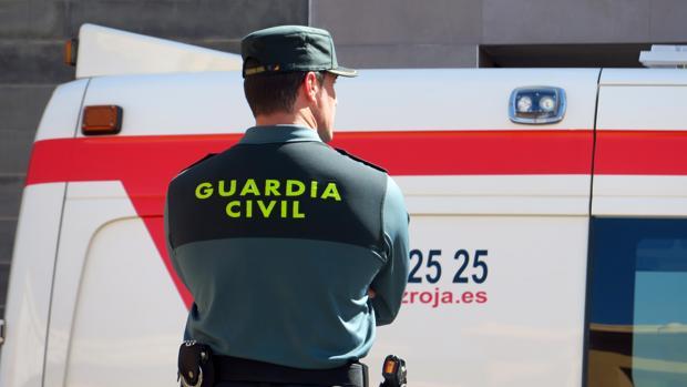 Imagen de archivo de un agente de la Guardia Civil en Alicante