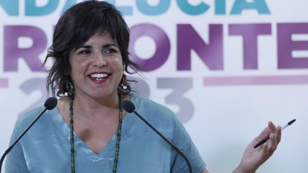 Teresa Rodríguez, líder de Podemos en Andalucía