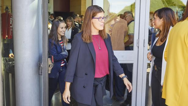 Noelia Posse, alcaldesa de Móstoles