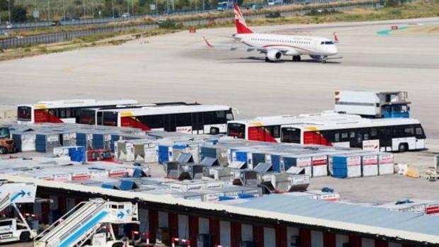 Imagen del aeropuerto de El Prat en Barcelona