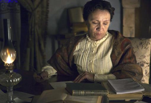 La actriz Blanca Portillo dio vida a la autora en la cinta «Concepción Arenal, la visitadora de cárceles» (2012)