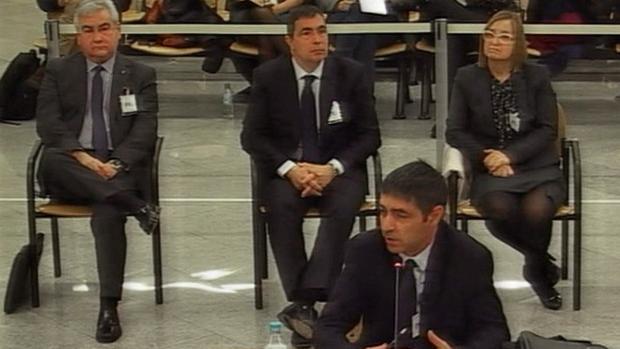 El fiscal acusa a Trapero de tener «información privilegiada» del «procés»
