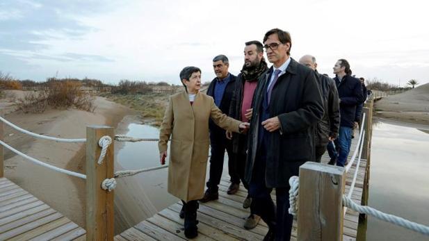 Illa y Cunillera, en el delta del Ebro