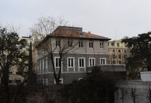 Este palacete en la calle Fortuny, hoy Fundación ortega Marañón, fue la primera sede del Instittuo al trasladarse a Madrid y durante años formó parte del campus