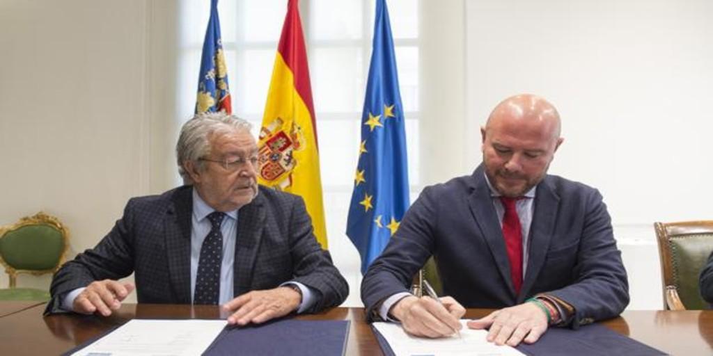 La Diputación de Valencia colaborará con la Fundación Bancaja en actividades de promoción social y cultural