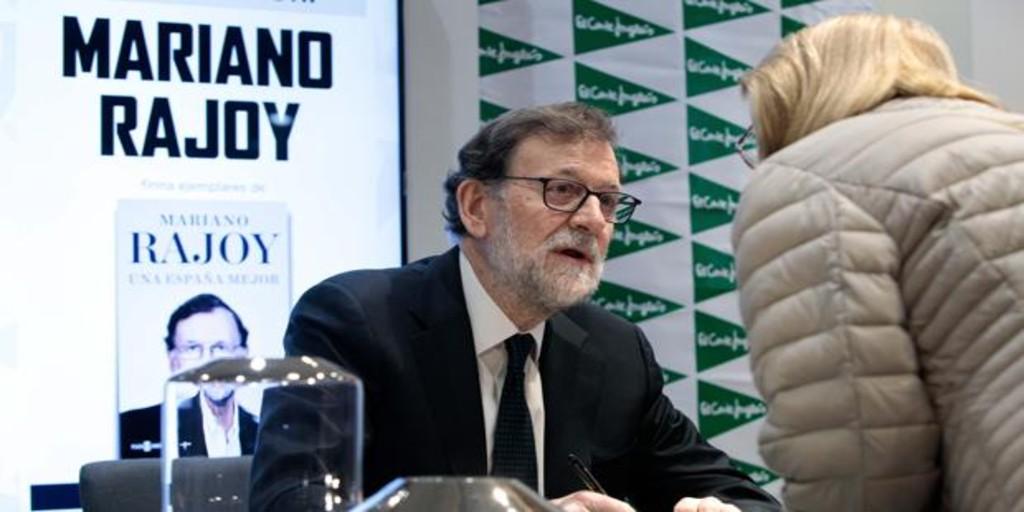 Ni de Alfonso Alonso ni de Carlos Iturgaiz: Mariano Rajoy solo habla de su libro
