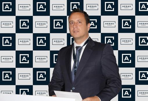 Juan López, director territorial de AEDAS Homes en Levante y Baleares