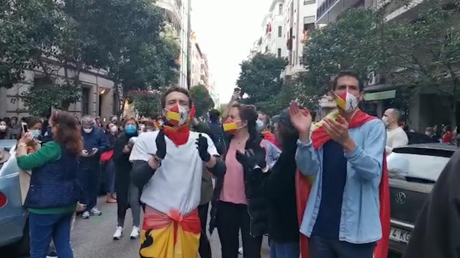 La cacerolada de Núñez de Balboa se extiende por todo Madrid