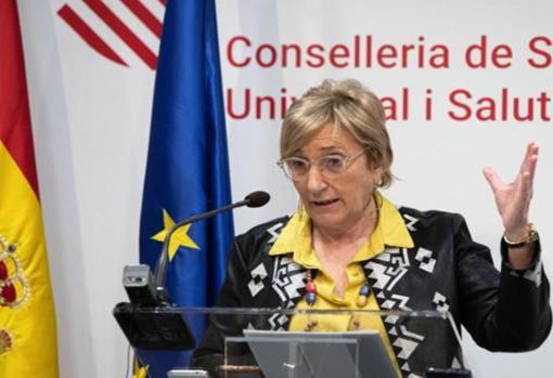 Imagen de archivo de la consellera de Sanidad, Ana Barceló