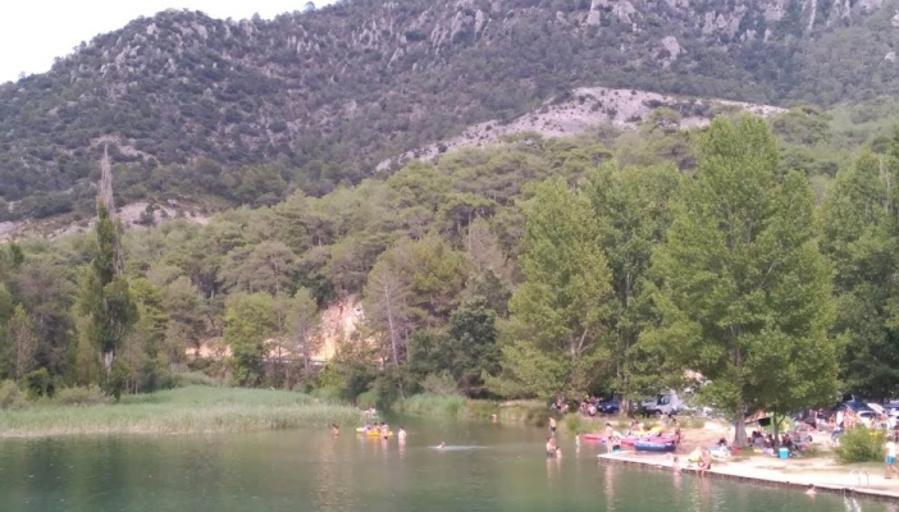 Cierran «La Playeta» del río Escabas, en Cañamares, por seguridad
