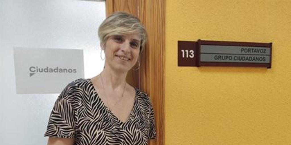 Susana Hernández, concejala de Ciudadanos en Talavera, pasa a ser no adscrita