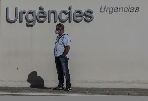 Imagen tomada este viernes en un hospital de la ciudad de Valencia