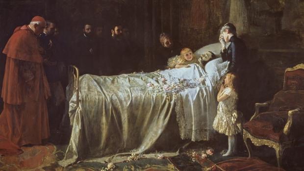 El último Rey que murió en España