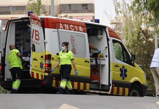 Imagen tomada en un hospital de la provincia de Alicante