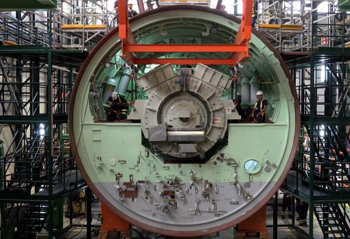 El motor principal del S-81